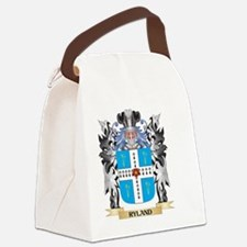 Ryland Coat of Arms - Family Cres Canvas Lunch Bag