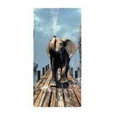 Elephant jetty Beach Towels