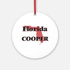 Florida Cooper Round Ornament