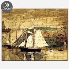 Gloucester Schooners and Sloop Puzzle