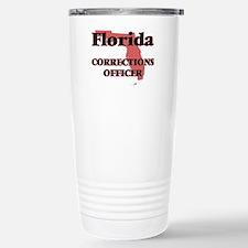Florida Corrections Off Stainless Steel Travel Mug