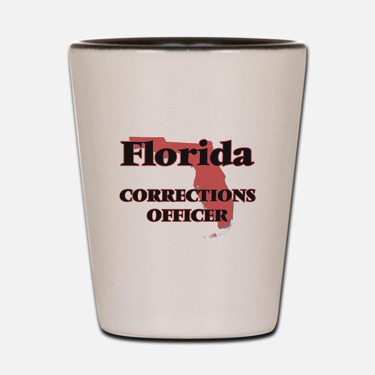 Florida Corrections Officer Shot Glass
