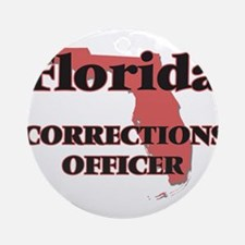 Florida Corrections Officer Round Ornament