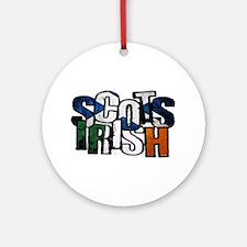 Scots Irish Round Ornament