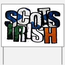 ScotsIrish Yard Sign