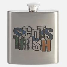 Scots Irish Flask