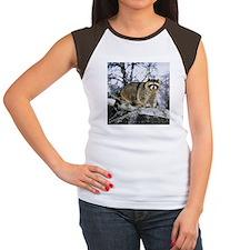 Cool Racoon Women's Cap Sleeve T-Shirt