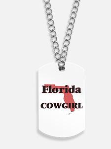 Florida Cowgirl Dog Tags