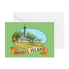 Sanibel Lighthouse - Greeting Cards (Pk of 20)
