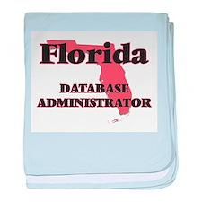 Florida Database Administrator baby blanket