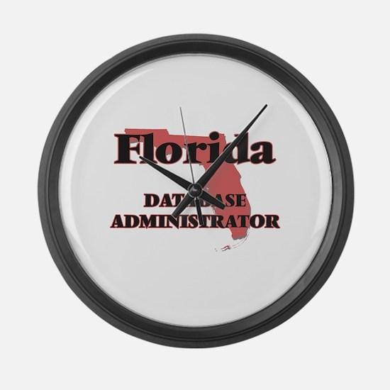 Florida Database Administrator Large Wall Clock
