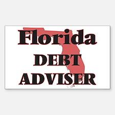 Florida Debt Adviser Decal