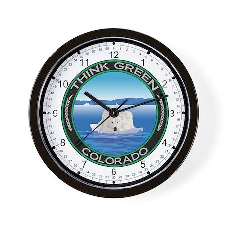 Environmental Polar Bear Colorado Wall Clock