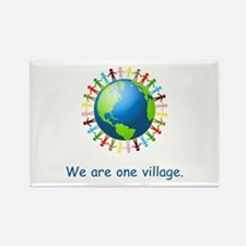 Rainbow Unity Globe Gifts Magnets