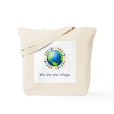 Rainbow Unity Globe Gifts Tote Bag
