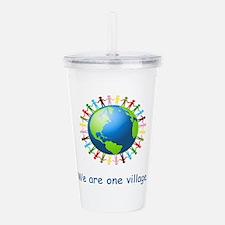 Rainbow Unity Globe Gifts Acrylic Double-wall Tumb