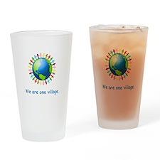 Rainbow Unity Globe Gifts Drinking Glass