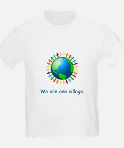 Rainbow Unity Globe Gifts T-Shirt