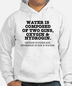 WATER IS COMPOSED OF TWO GINS - Jumper Hoody