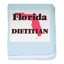 Florida Dietitian baby blanket