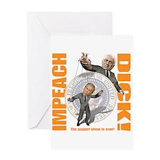 Impeach Cheney Greeting Card