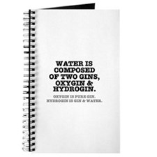 WATER IS COMPOSED OF TWO GINS - OXYGIN HY Journal