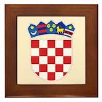 Croatia COA Framed Tile