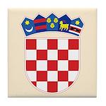 Croatia COA Tile Coaster