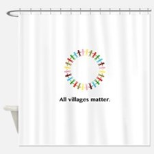 All Villages Matter Unity Circle Gifts Shower Curt