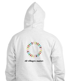 All Villages Matter Unity Circle Gifts Hoodie