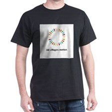 All Villages Matter Unity Circle Gifts T-Shirt