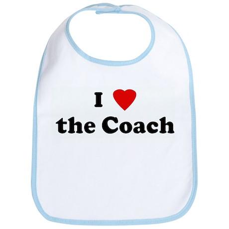 I Love the Coach Bib