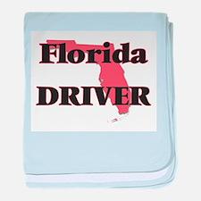 Florida Driver baby blanket