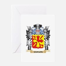 Samson Coat of Arms - Family Crest Greeting Cards