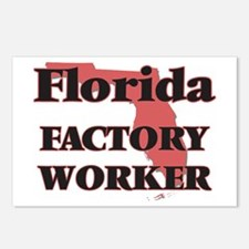 Florida Factory Worker Postcards (Package of 8)