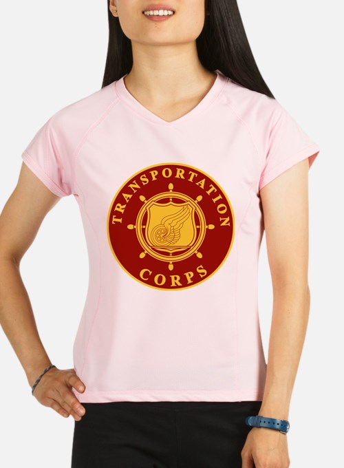 Army Transportation Corps Performance Dry T-Shirt