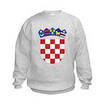 Croatia COA Kids Sweatshirt