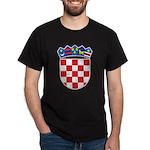 Croatia COA Dark T-Shirt
