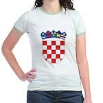Croatia COA Jr. Ringer T-Shirt