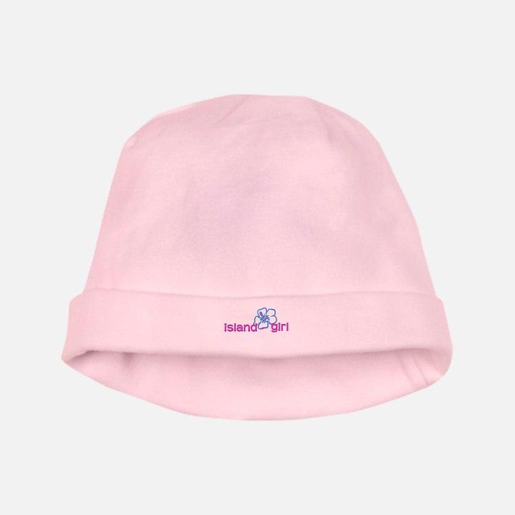 Island Girl baby hat