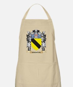 Sandoval Coat of Arms - Family Crest Apron