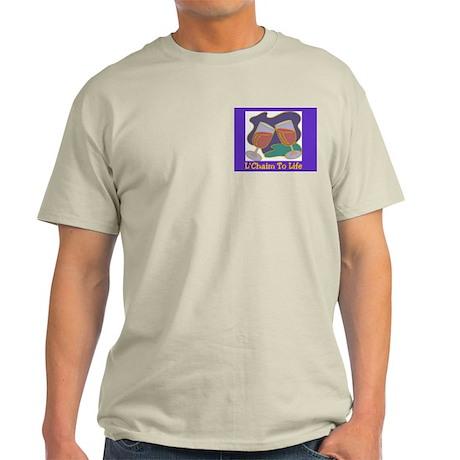 L'Chaim Jewish New Years Light T-Shirt