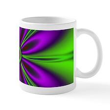 Purple Green Flower by designeffects Mugs
