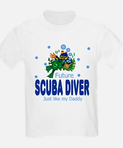 Funny Diver baby T-Shirt