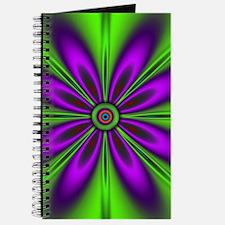 Purple Green Flower by designeffects Journal