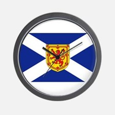 Cute Scotland Wall Clock