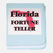 Florida Fortune Teller baby blanket