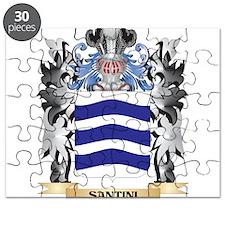 Santini Coat of Arms - Family Crest Puzzle