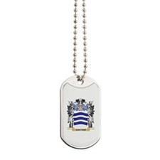 Santino Coat of Arms - Family Crest Dog Tags