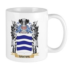 Santos Coat of Arms - Family Crest Mugs